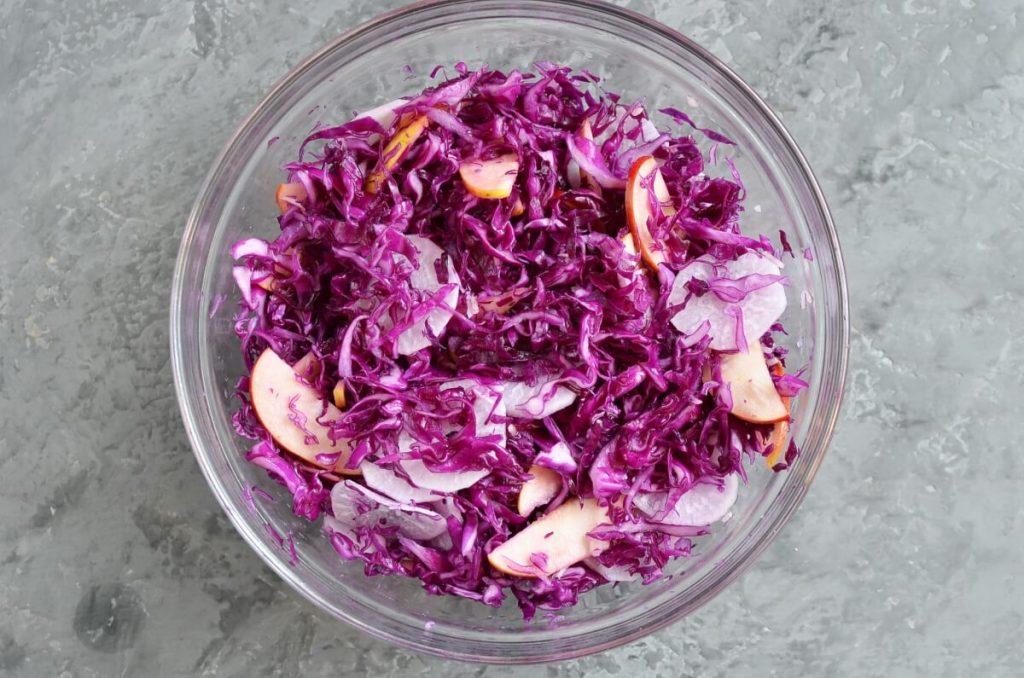 Gingery Apple Cabbage Sauerkraut recipe - step 3