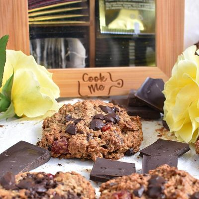 Healthy Oatmeal Cherry Cookies Recipes–Homemade Healthy Oatmeal Cherry Cookies–Easy Healthy Oatmeal Cherry Cookies