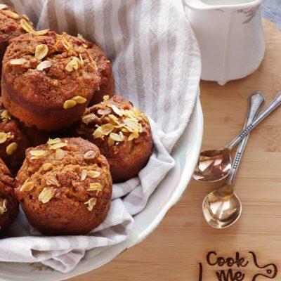 Healthy Pumpkin Muffins Recipe-Sugar Free Pumpkin Muffins-Vegetarian Healthy Pumpkin Muffins