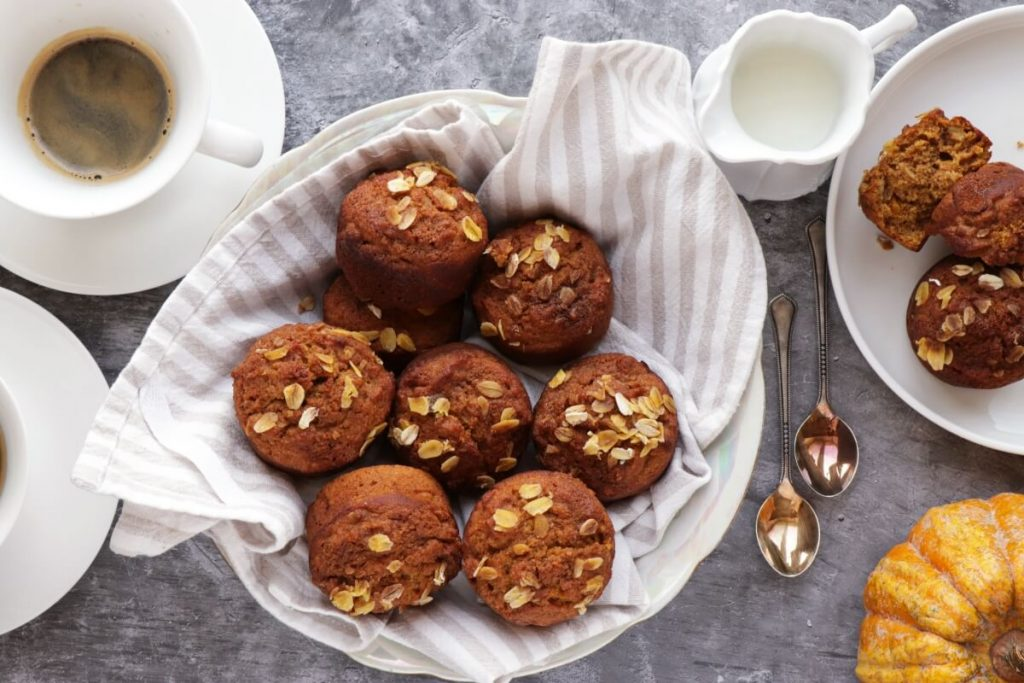 How to serve Healthy Pumpkin Muffins