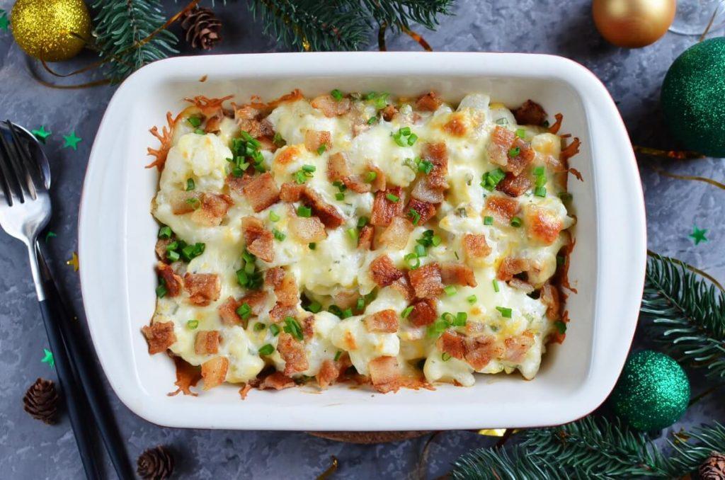 How to serve Loaded Cauliflower Casserole