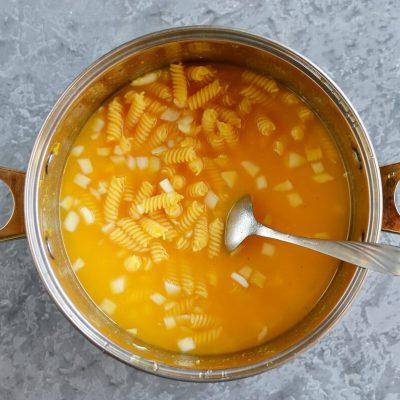 One Pot Cheesy Pumpkin Pasta recipe - step 1
