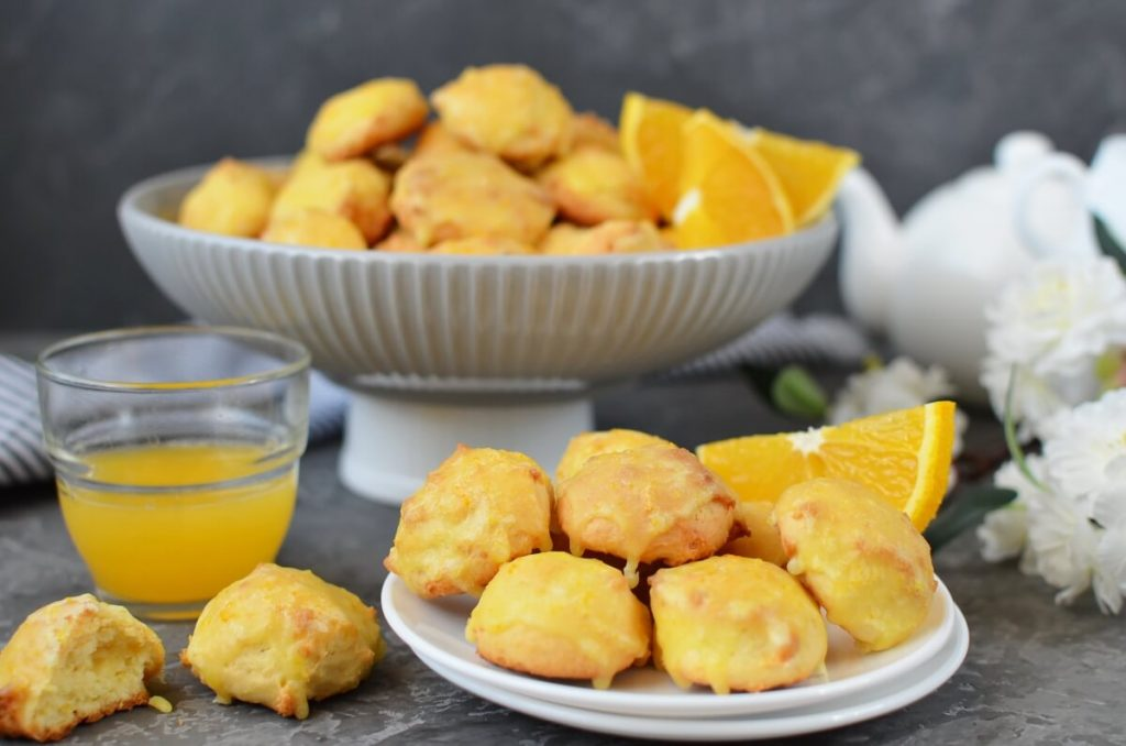 How to serve Orange Ricotta Cookies