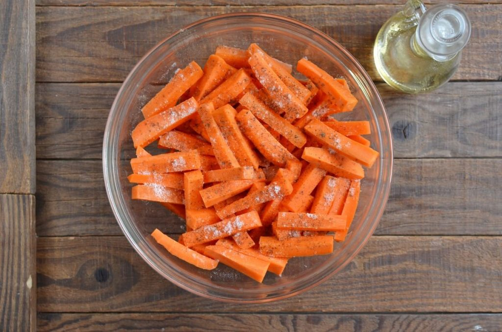 Parmesan Roasted Carrot Fries recipe - step 2