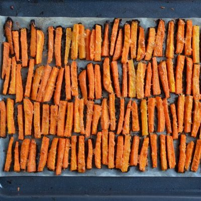 Parmesan Roasted Carrot Fries recipe - step 4