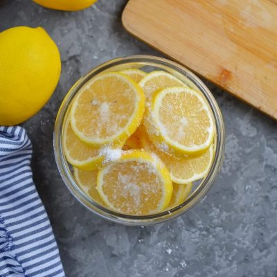 Preserved Lemons recipe - step 2
