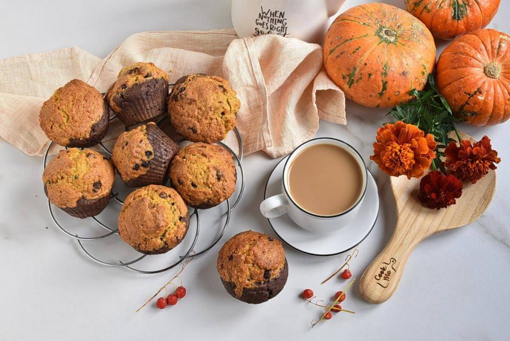 How to serve Pumpkin Brookies