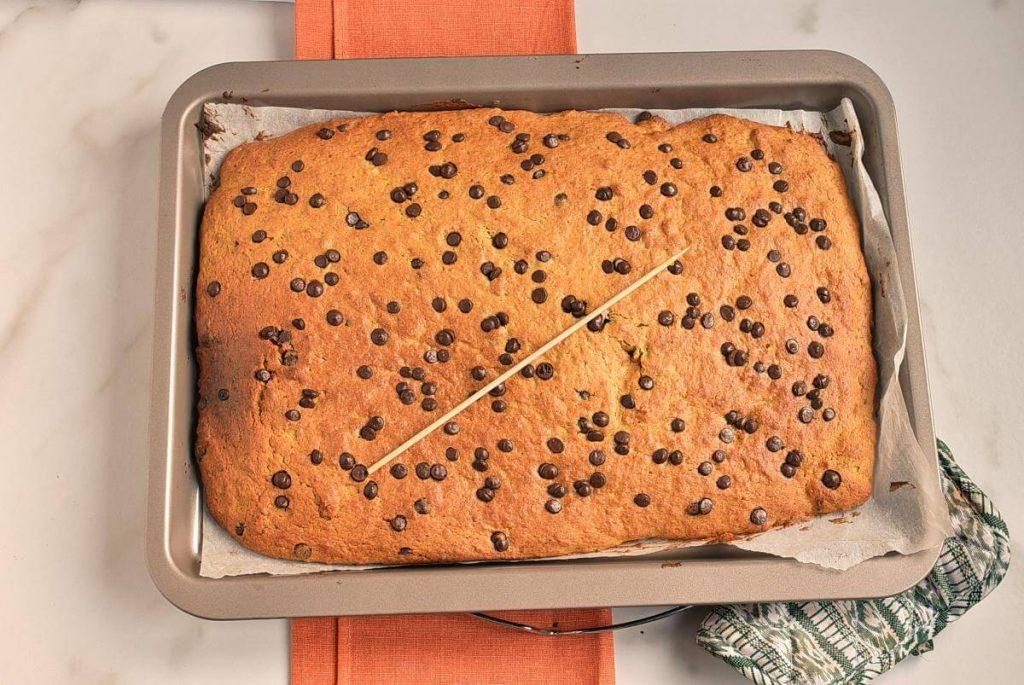 Pumpkin Chocolate Chip Bars recipe - step 7
