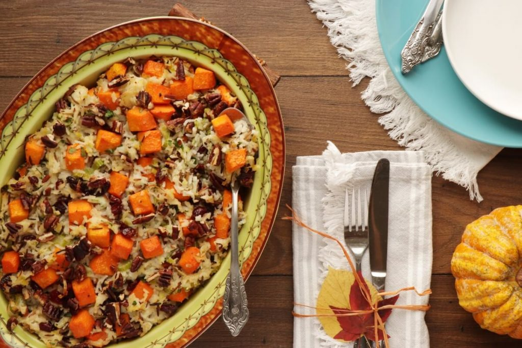How to serve Rice Stuffing with Butternut Squash