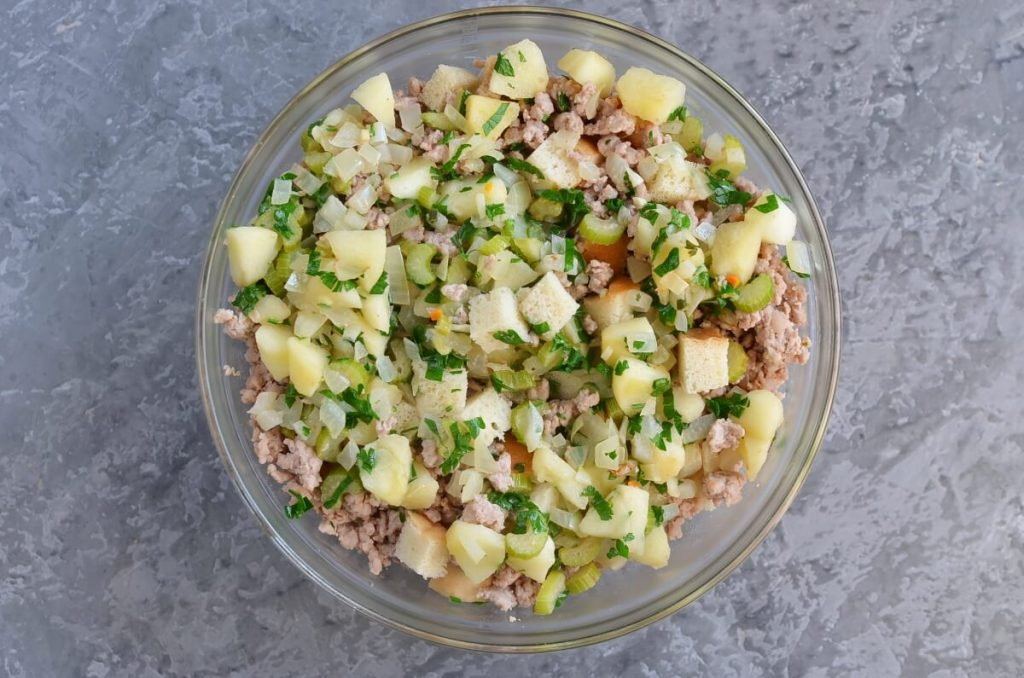 Sage, Sausage and Apple Dressing recipe - step 6