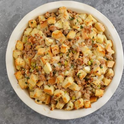 Sage, Sausage and Apple Dressing recipe - step 9