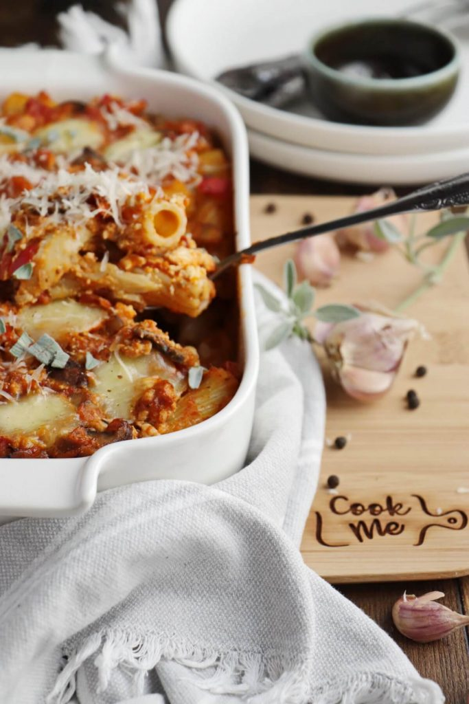 Pasta bake to feed the whole family