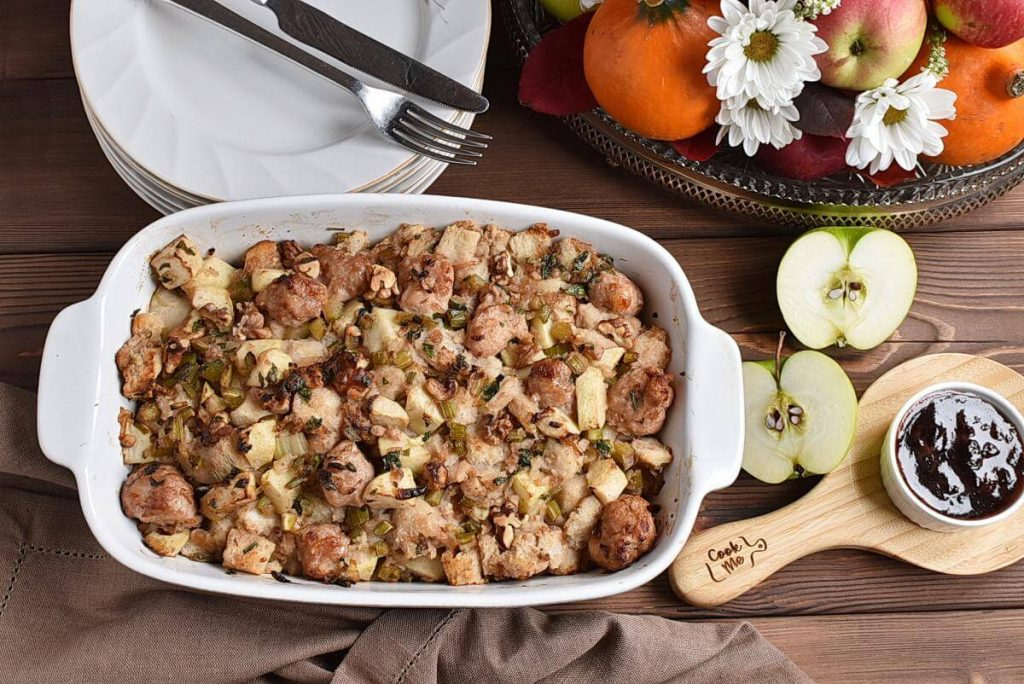 Sausage, Apple and Walnut Stuffing Recipes–Homemade Sausage, Apple and Walnut Stuffing–Easy Sausage, Apple and Walnut Stuffing