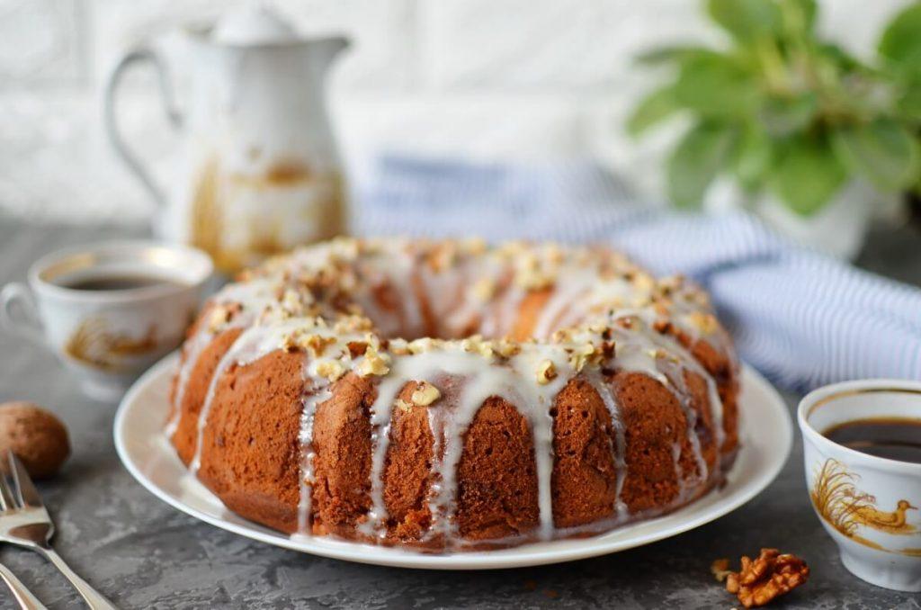 How to serve Spiced Apple-Mascarpone Bundt Cake