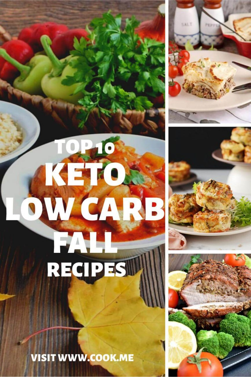 TOP 10 Keto Low Carb Fall Recipes - The Best Low-Carb and Keto Recipes to Make This Fall - Keto Low Carb Fall Winter Recipes