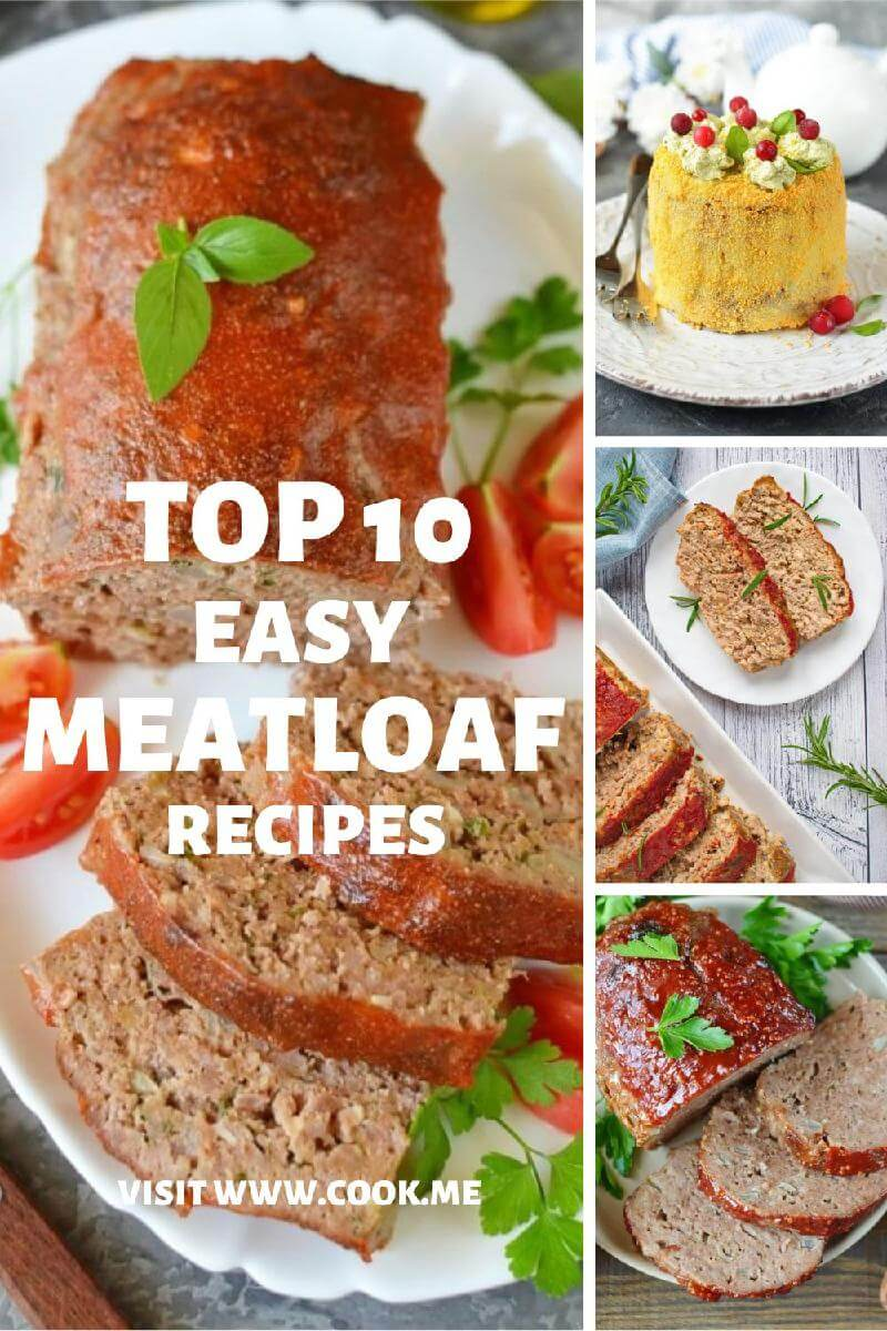 TOP 10 Meatloaf Recipes - Easy Meatloaf Recipe - The Best Classic Meatloaf Recipe