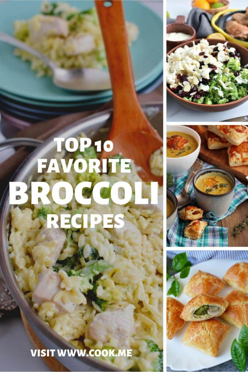 Top 10 Broccoli recipes - Broccoli Recipes You'll Want to Make Tonight - Best Broccoli Recipes - What to Make With Broccoli