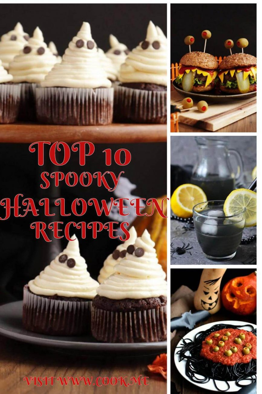 Top 10 Halloween Recipes - Spooky Halloween Recipes - Easy Halloween Recipes Guaranteed to Freak Out Your Gues