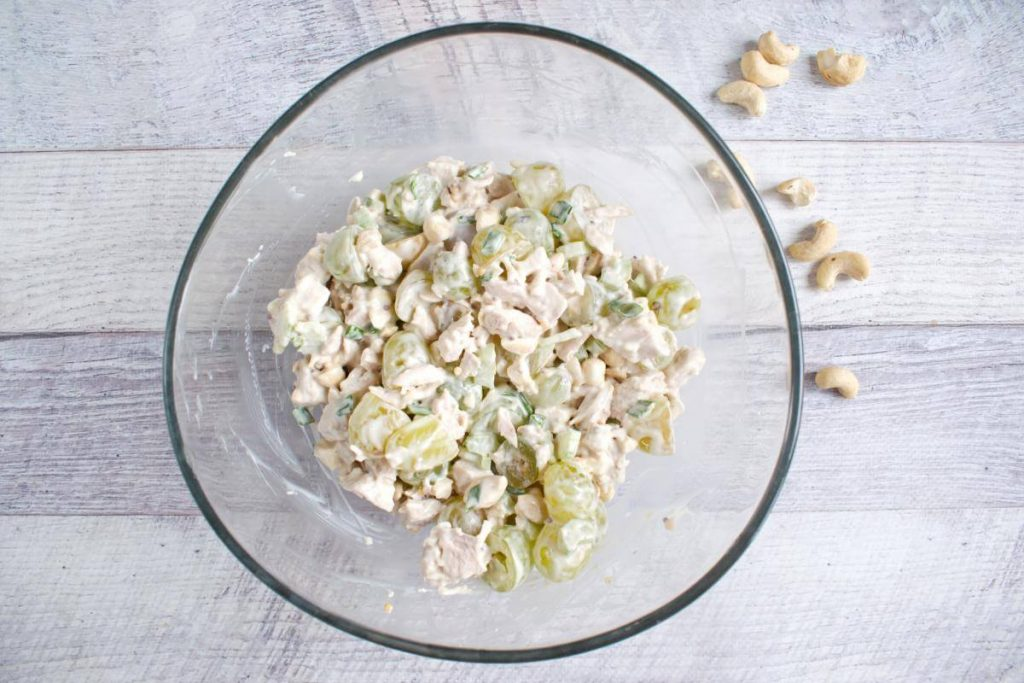 Turkey Salad with Grapes & Cashews recipe - step 3