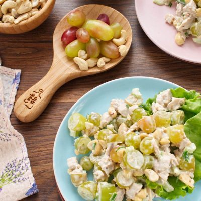 Turkey Salad with Grapes Cashews - How to make Turkey Salad with Grapes Cashews - Easy Turkey Salad with Grapes Cashews