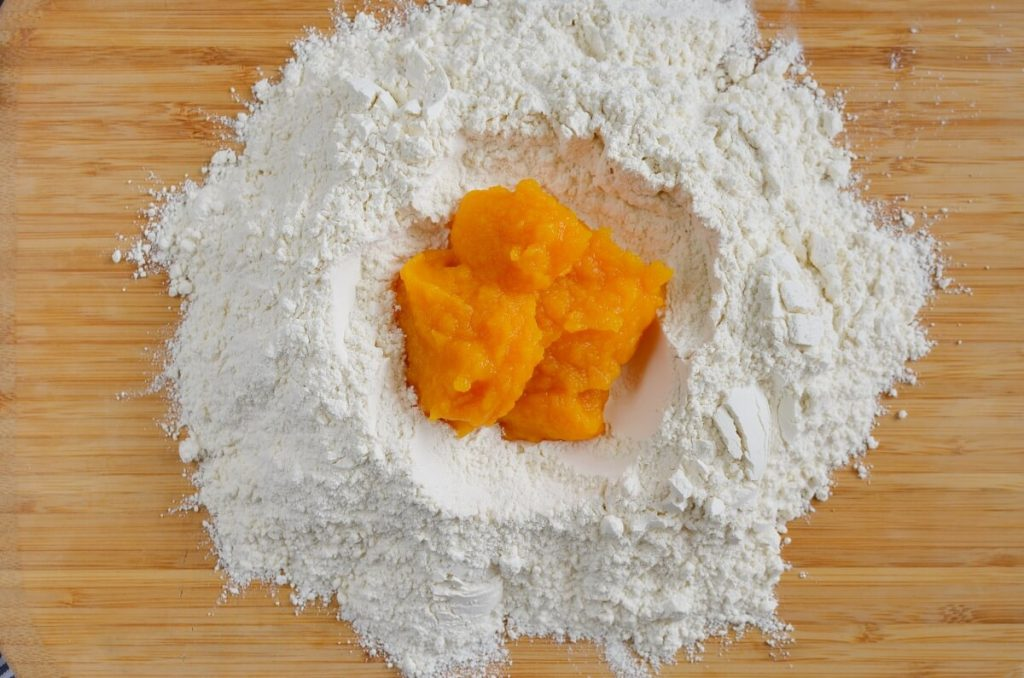 Two Ingredient Fresh Pumpkin Pasta recipe - step 2
