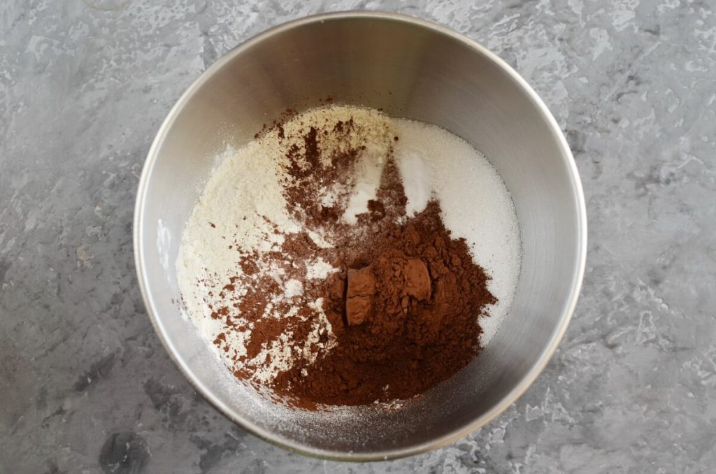 Vegan Mocha Cake recipe - step 2