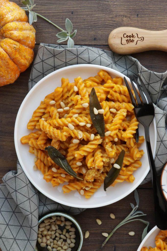 Delicious vegan pasta dish