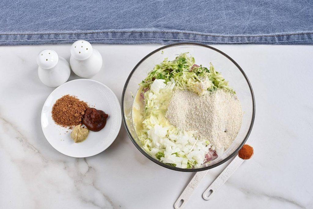 Amazing Zucchini Meatloaf recipe - step 2