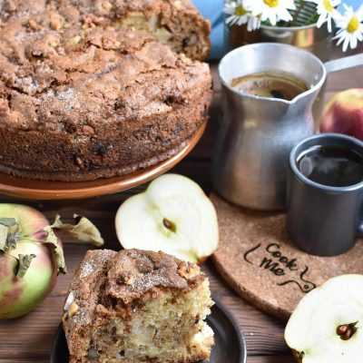 Apple Sour Cream Coffee Cake Recipes–Homemade Apple Sour Cream Coffee Cake–Easy Apple Sour Cream Coffee Cake