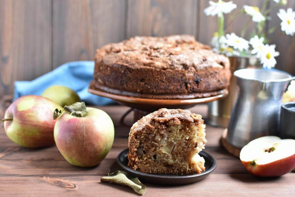 How to serve Apple Sour Cream Coffee Cake