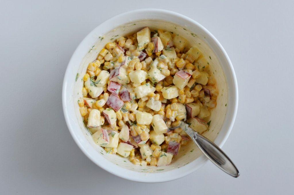 Apple and Corn Salad recipe - step 3