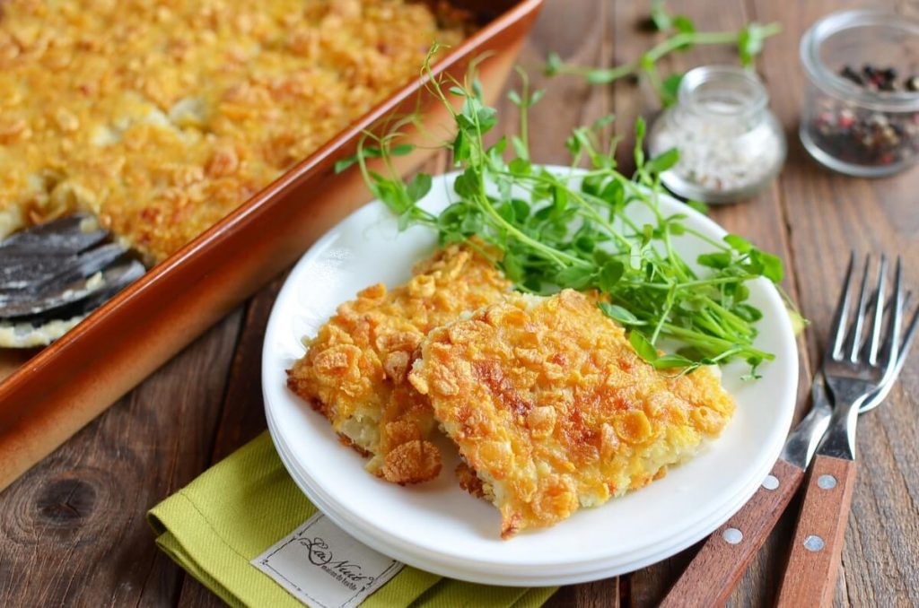 How to serve Au Gratin Potato Casserole