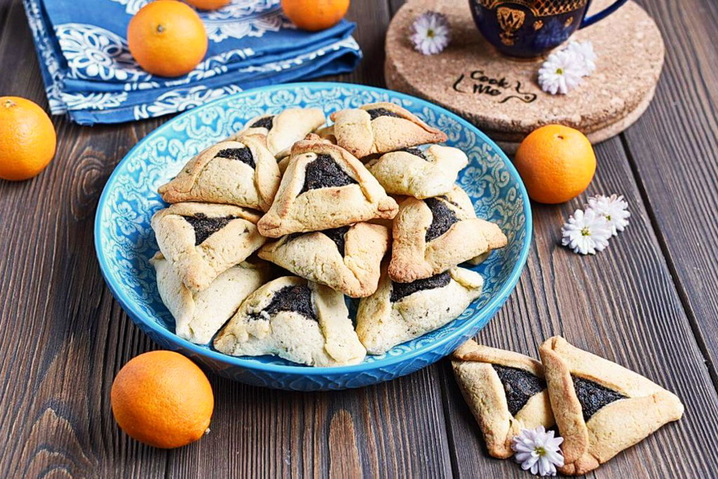 How to serve Buttery Hamantaschen
