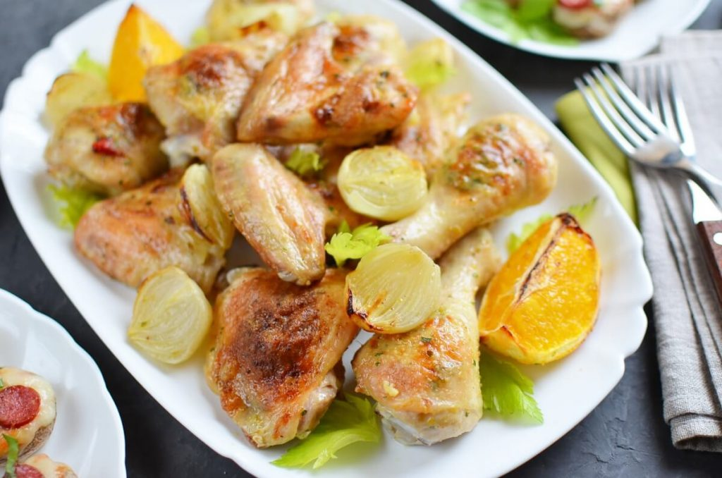 How to serve Chili-Butter Roast Chicken