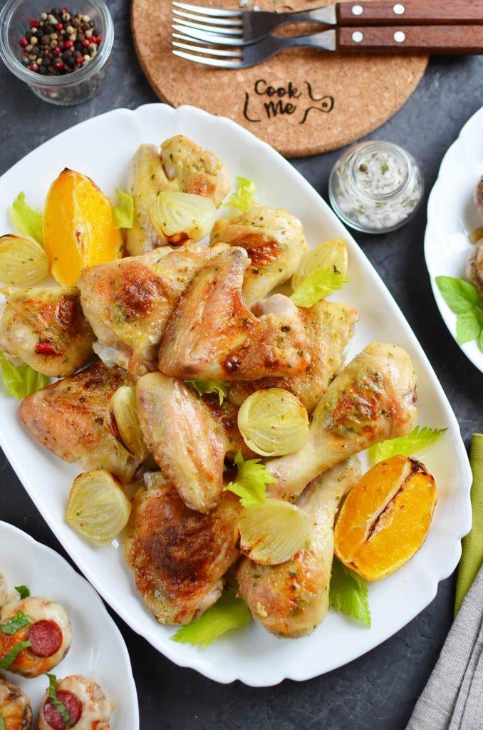 Chili-Butter Roast Chicken