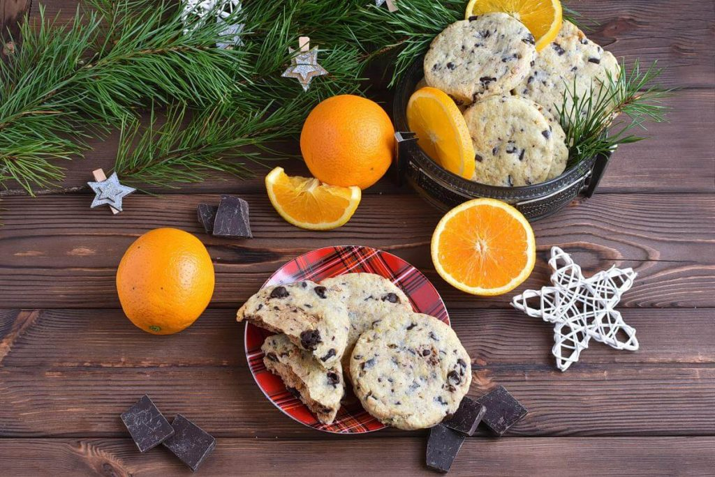 How to serve Chocolate Orange Cookies