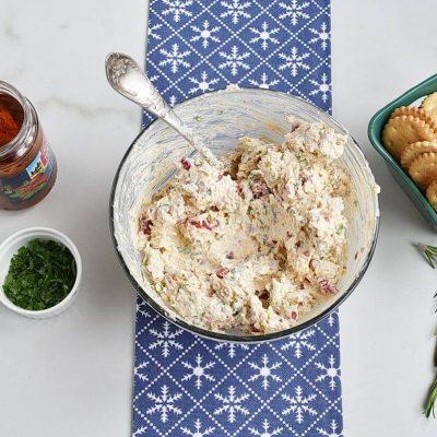Christmas Appetisers – Italian Cheese Log recipe - step 2