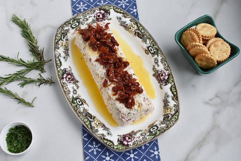 Christmas Appetisers – Italian Cheese Log recipe - step 6
