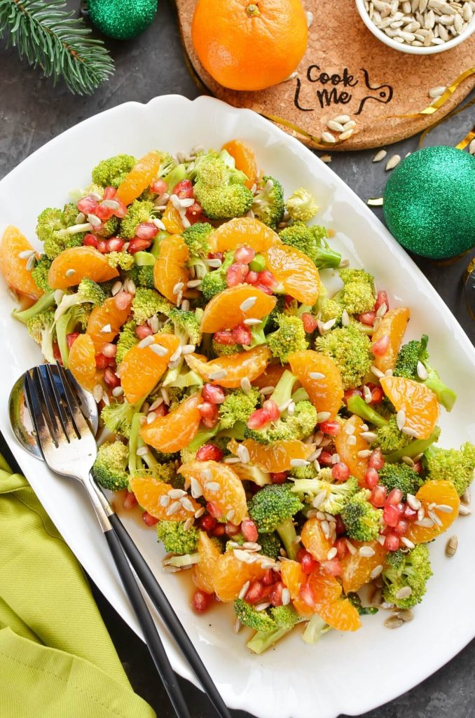 Keto friendly Christmas salad