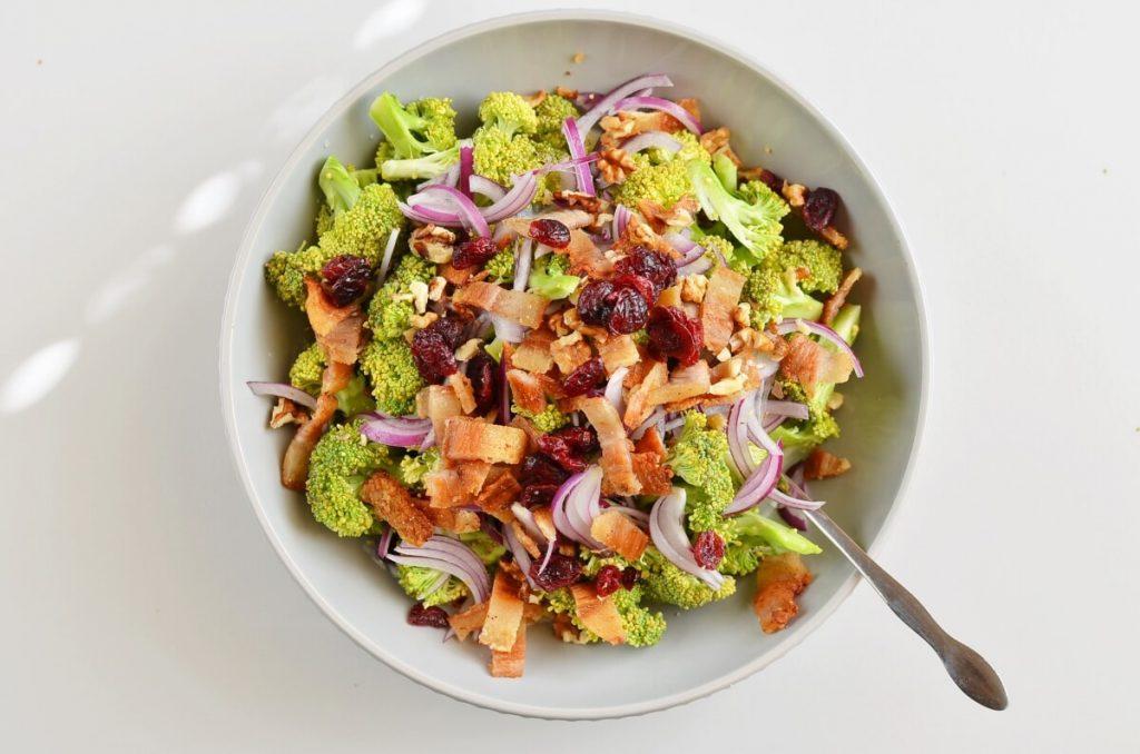 Christmas Craisin Broccoli Salad recipe - step 2