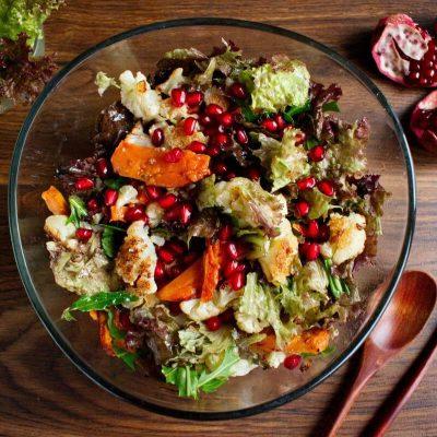 Christmas Sweet Potato & Cauliflower Salad recipe - step 5