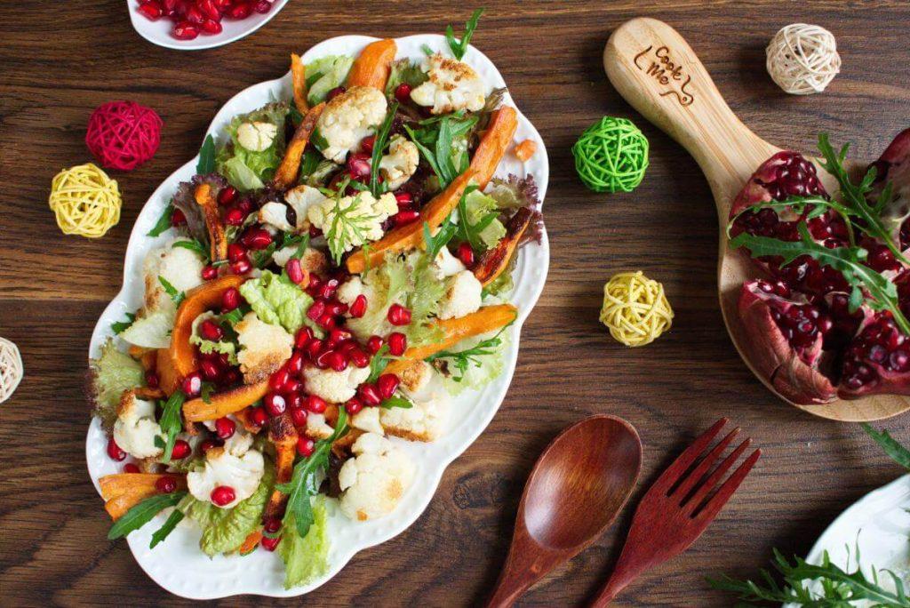 Christmas Sweet Potato Cauliflower Salad recipe- Best Sweet Potato-and-Cauliflower Salad Recipe