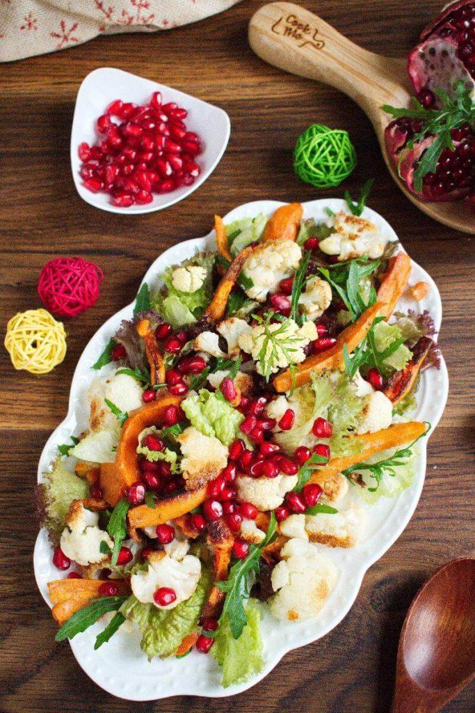 Delicious festive salad