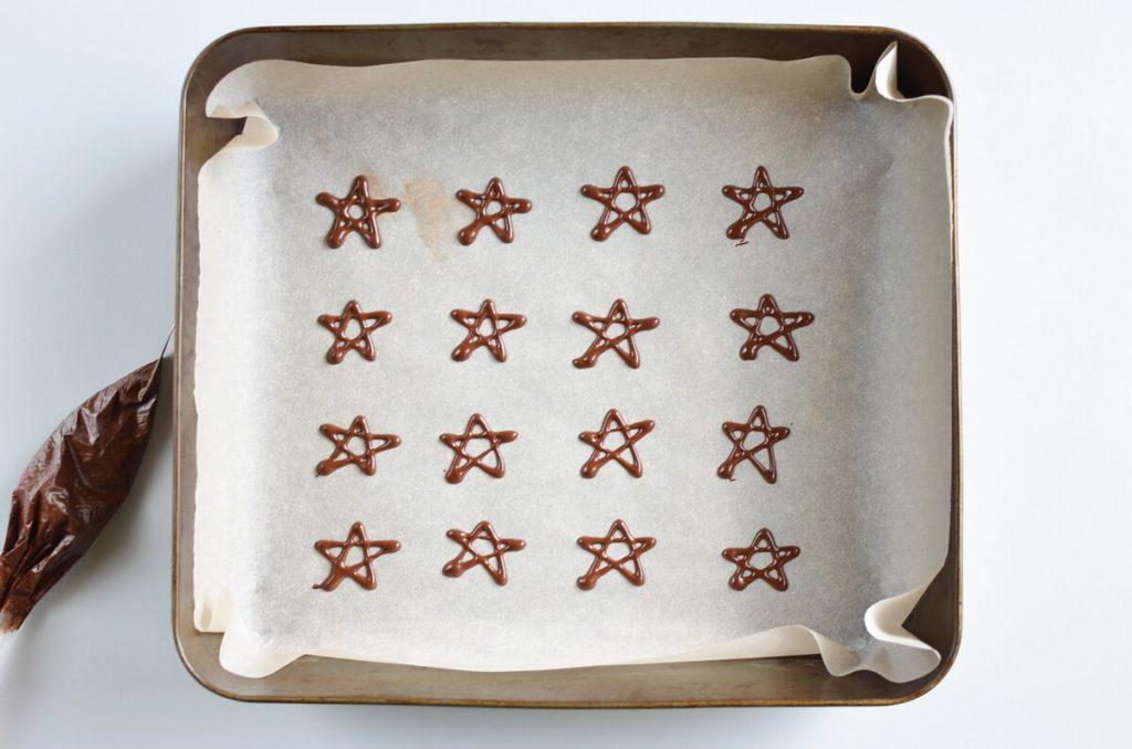 Christmas Tree Meringue Cookies recipe - step 9