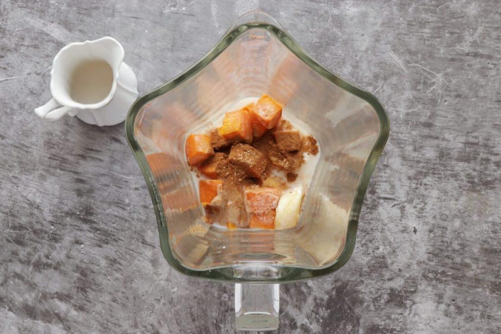 Cinnamon Sweet Potato Pie Smoothie recipe - step 1