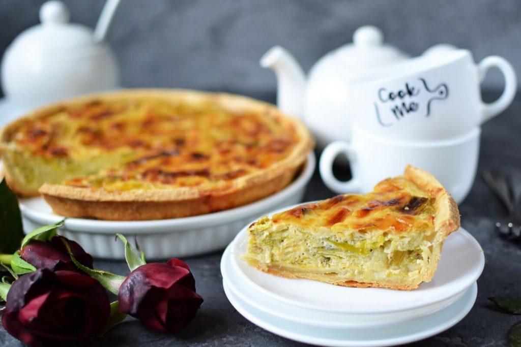 How to serve Creamed Leek Tart
