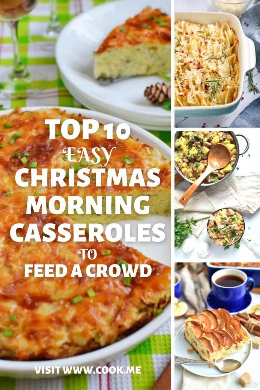 Easy Christmas Morning Casseroles-Make-Ahead Breakfast Casseroles for Christmas Morning