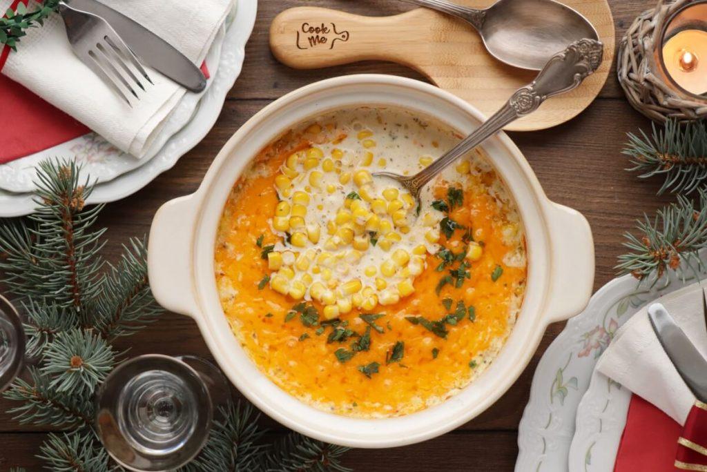 Easy Creamed Corn Recipe-Homemade Creamed Corn-Baked Cream Corn