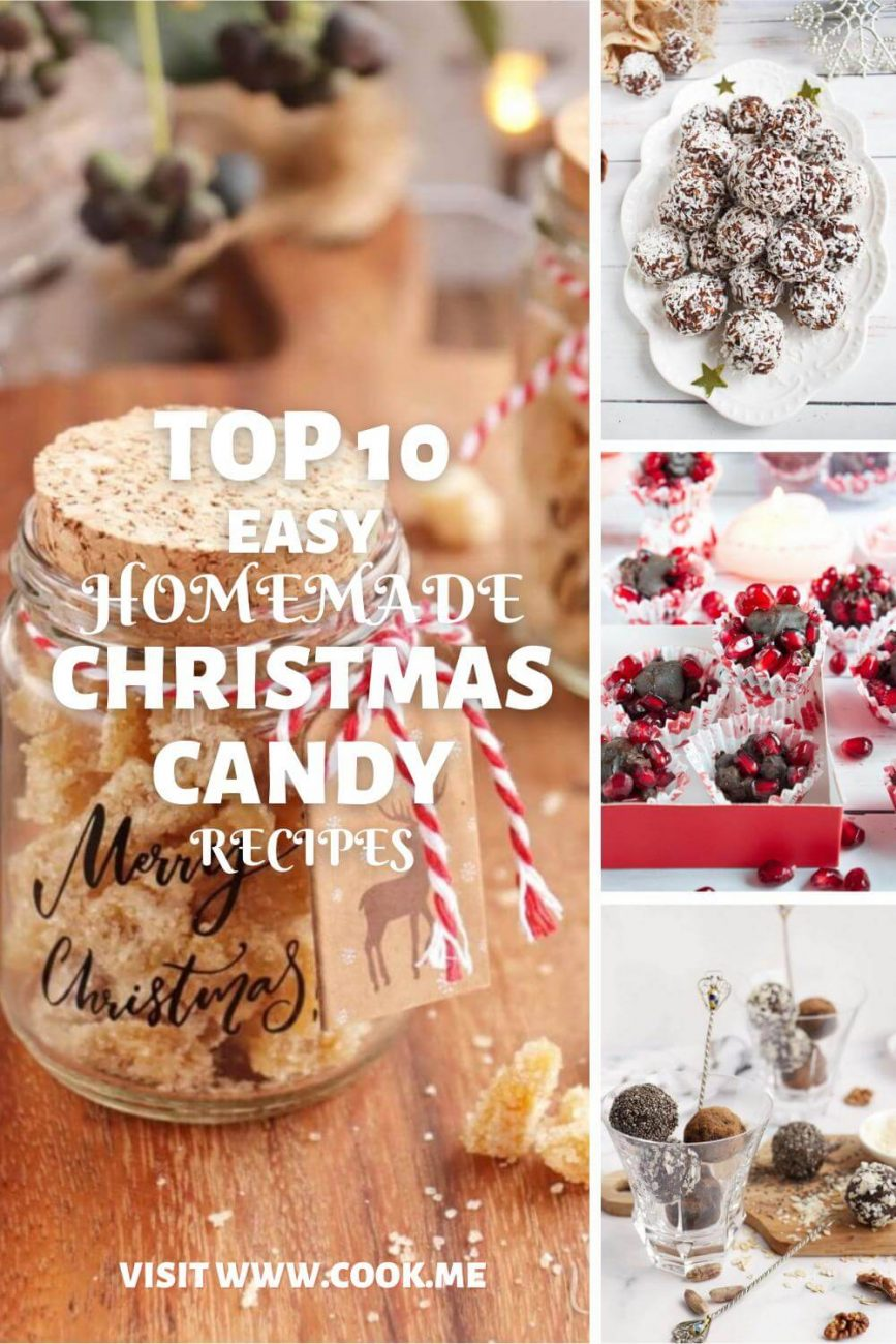 Easy Homemade Candy Recipes - Easy Christmas Candy Recipes