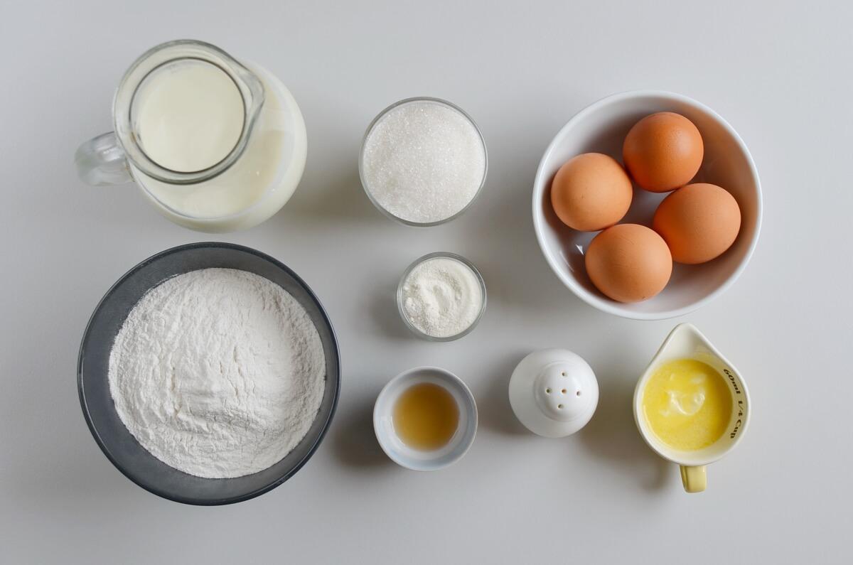Ingridiens for Gluten Free Coconut Rice Cakes – Bibingka
